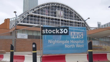 NHS Nightingale Hospital North West In Manchester, UK