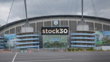Manchester City, Etihad Stadium In Manchester, UK