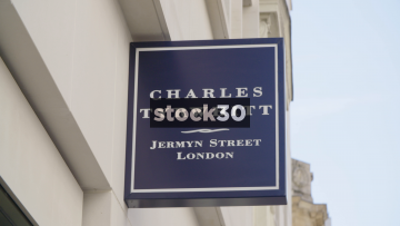 Charles Tyrwhitt On Jermyn Street In London. Signage And Store Front. UK