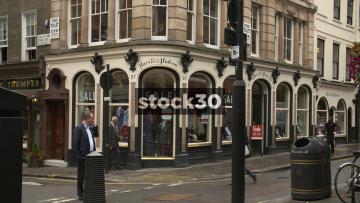 Harvie & Hudson and Hawes & Curtis On Jermyn Street In London, UK