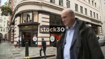 Hawes & Curtis, TM Lewin And Links Of London On Jermyn Street In London, UK