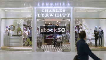 Charles Tyrwhitt In The Westfield World Trade Center In New York, USA
