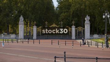 St James's Park Gates In London, UK