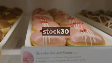 Krispy Kreme Doughnuts, 3 Shots, UK
