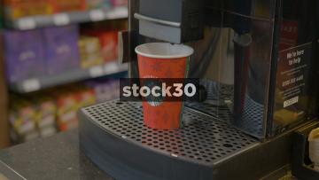 Starbucks Coffee Machine Filling Cup, UK