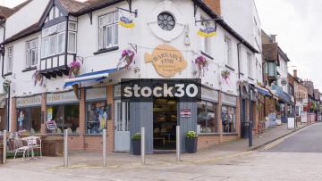 Barnaby's Fish Restaurant And Take Away In Stratford, UK