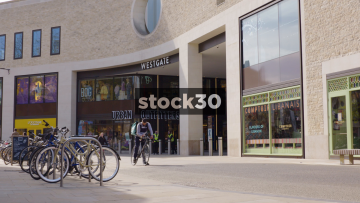 Westgate Shopping Centre In Oxford, UK
