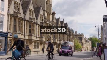 Brasenose College Building In Oxford, UK