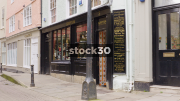 Scriptum Stationery Shop On Turl Street In Oxford, UK