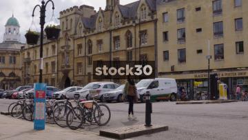Broad Street In Oxford, UK