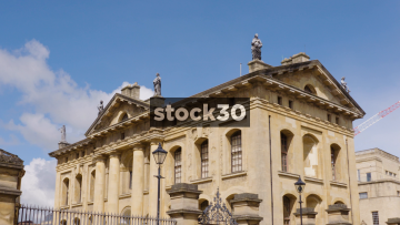 The Clarendon Building By Oxford University, UK