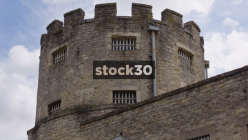 Oxford Castle And Prison, Close Up And Wide, UK