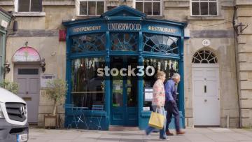 Underwood Restaurant In Bath, Two Shots, UK