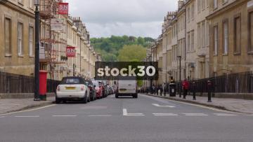 Gay Street In Bath, UK