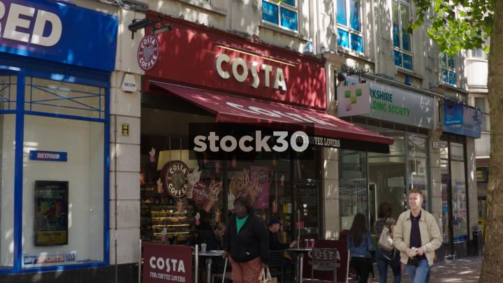 Costa Coffee On New Street In Birmingham Uk Stock30