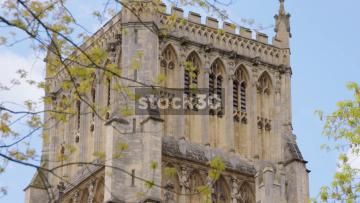 Bristol Cathedral, 3 Close Up Shots, UK