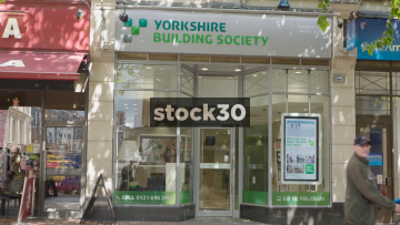 Yorkshire Building Society On New Street In Birmingham, UK