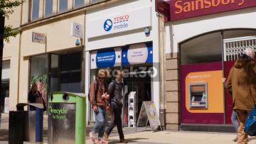 Tesco Mobile On Broadmead In Bristol, UK