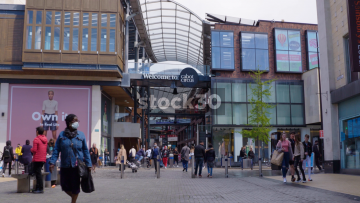 Cabot Circus Shopping Centre In Bristol, UK