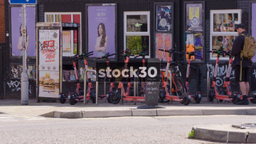 Electric Scooters In Bristol, UK