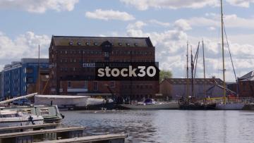 Alexandra Warehouse Building At Gloucester Docks, UK