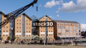 Warehouse Buildings At Gloucester Docks, UK