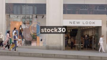 New Look On Corporation Street In Birmingham, UK