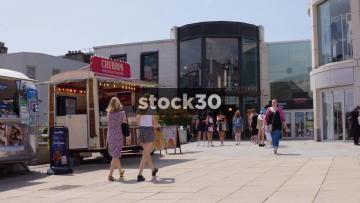 Churchill Square And Urban Outfitters In Brighton, UK