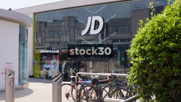 JD Sports Store In Brighton, Wide And Close Up, UK