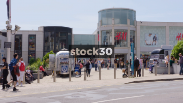 H&M And Churchill Square Shopping Centre In Brighton, UK