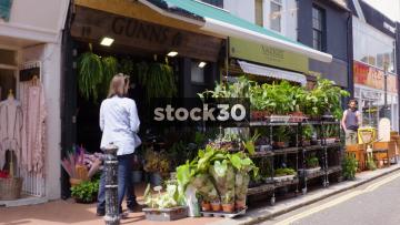 Gunns Plant Shop On Sydney Street In Brighton, UK