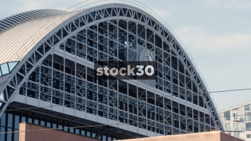 Manchester Central Convention Complex Clock, UK
