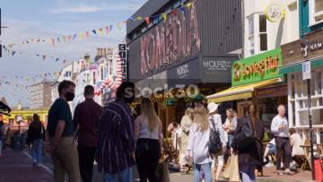 Komedia Performing Arts Theatre On Gardner Street In Brighton, UK