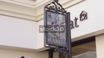 The Lanes In Brighton, UK