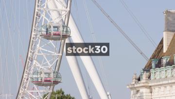 Close Up Of The London Eye, UK