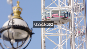 Close Up Of London Eye Pods, UK