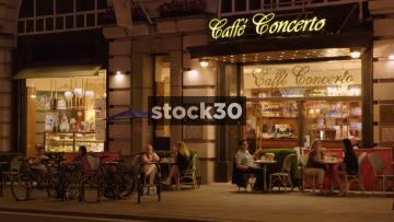 Caffe Concerto in London, UK