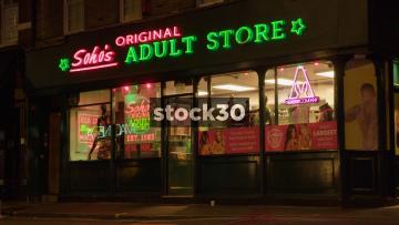 Soho's Original Adult Store In London, UK