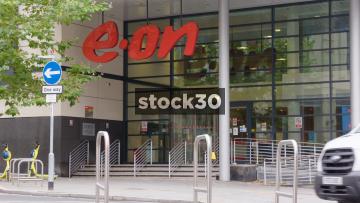 Eon Energy Office Building In Nottingham, Close Ups, UK