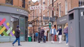 Kings Walk In Nottingham, UK