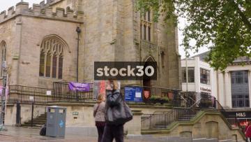 St Peter's Church In Nottingham, UK