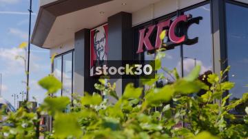 KFC Drive Thru, Two Shots, UK