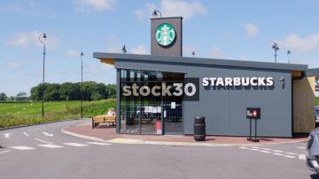 Starbucks Drive Thru, Two Shots, UK