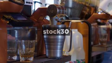 Starbucks Coffee Being Prepared, UK
