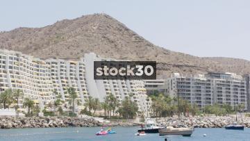 Anfi Beach Resort In Mogan, Las Palmas In Gran Canaria. Hotels And Mountain