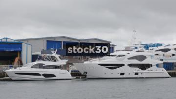 Sunseeker Boat Manufacturing In Poole, UK