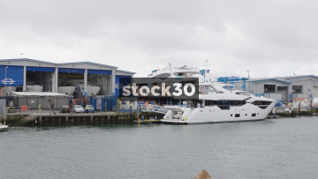 Luxury Yacht Manufacturing At Sunseeker In Poole, UK