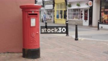Post Box In Poole, UK