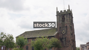 St Luke's Parish Church In Holmes Chapel, Cheshire, UK