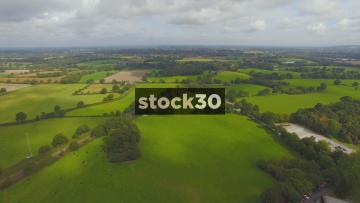 Jodrell Bank Backwards Flyover In Cheshire, UK